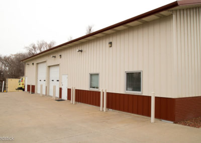 Peterson Painting Facility Building Side Bays