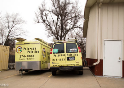 Peterson Painting Service Trucks