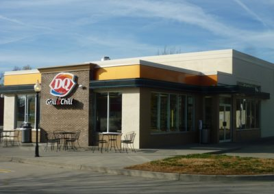 Peterson Painting Commercial Job - Dairy Queen1